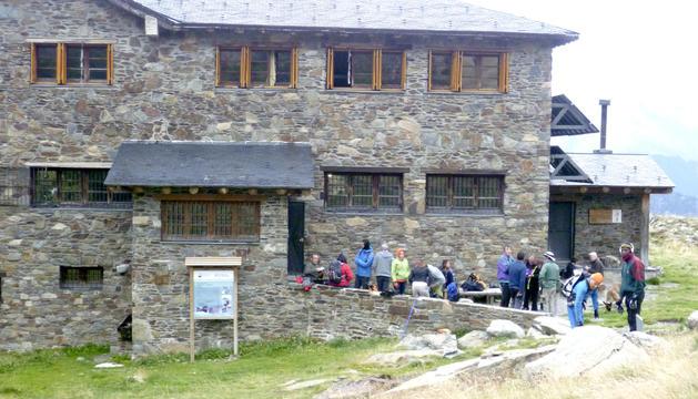 El refugi del Comapedrosa, on tindrà lloc el festival.