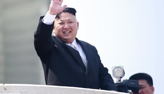 El president de Corea del nord, Kim Jong-Un.