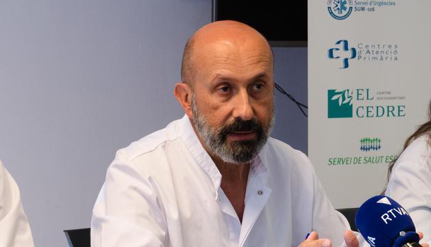 El director assistencial del SAAS, Joan Martínez Benazet.