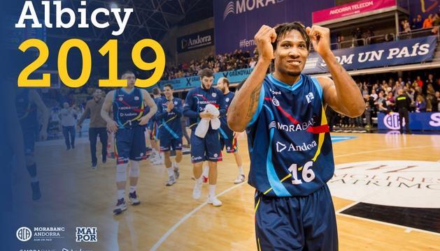 Albicy va ser un dels jugadors més importants de la lliga
