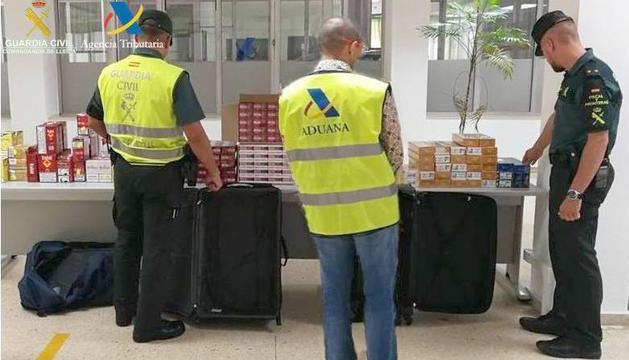 Intervenen tabac de contraban valorat en 7.500 euros