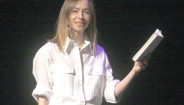 La poeta i escriptora andorrana, Teresa Coloma.
