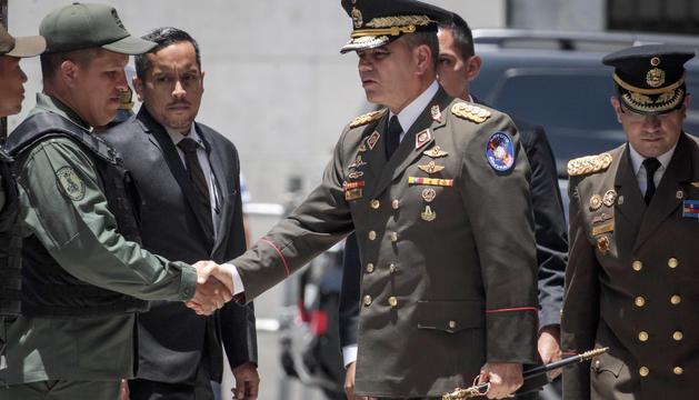 El ministre de Defensa veneçolà, Vladimir Padrino López.