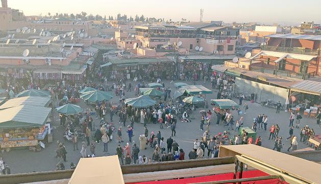Plaça Djemà-el-Fna