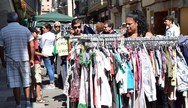 Parades instal·lades al barri antic de la Seu d'Urgell.