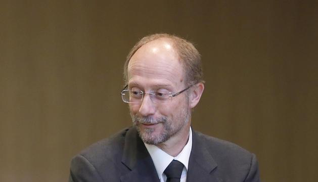 Víctor Naudi, al ConsellGeneral.