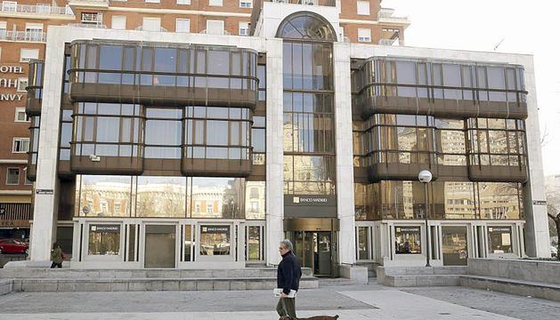 Seu de Banco Madrid a la capital d'Espanya.