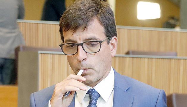 El ministre Jordi Cinca.