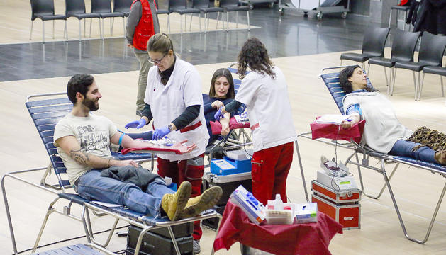 Nova campanya de donació de sang de la Creu Roja