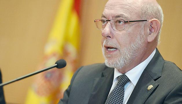 El fiscal general de l'Estat, José Manuel Maza, en una imatge d'arxiu.