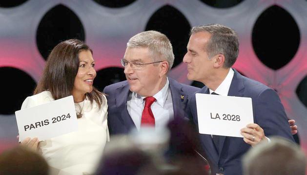 Moment de la gala que es va celebrar ahir a Lima.