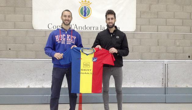 Àlex Soldevila i Marc Romaguera.