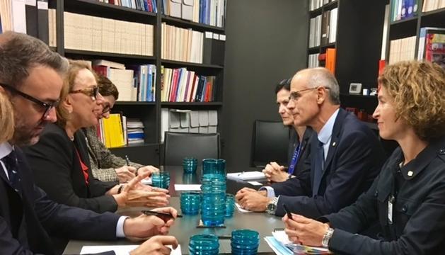 Toni Martí, avui a les Nacions Unides.