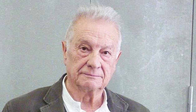El músic i investigador del folklore Artur Blasco.