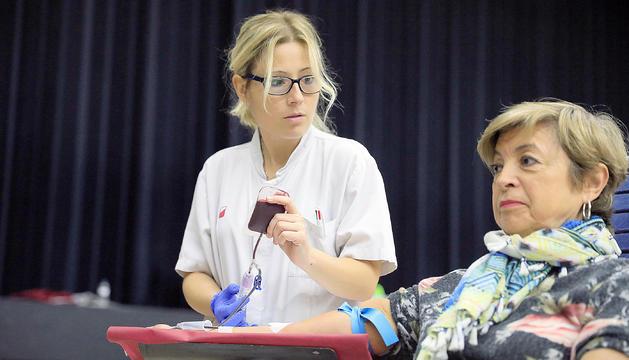 La Creu Roja espera 200 noves donacions de sang