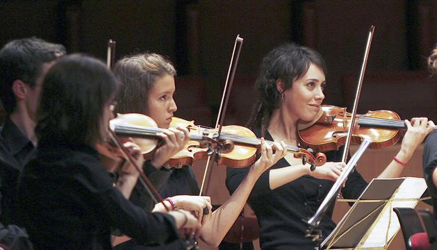 Elias Porter va dirigir un concert de Meritxell centrat en la música tradicional