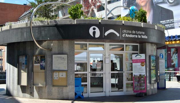 Vista de l'oficina de turisme d'Andorra la Vella