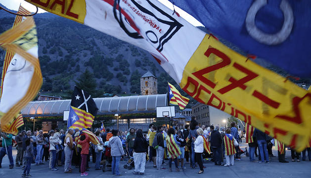 Celebració de l'11 de setembre organitzada per l'ANC