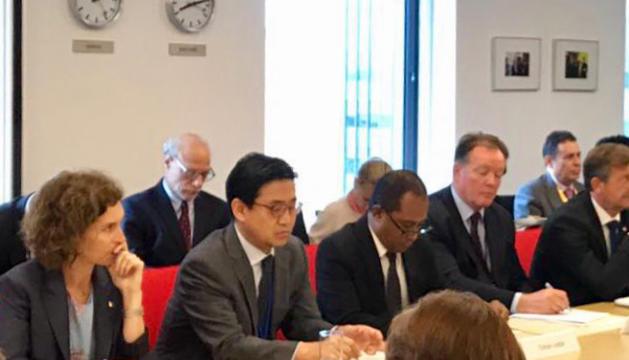 Esmorzar de la xarxa informal de ministres d'Afers Exteriors a favor de la CPI, avui a Nova York.