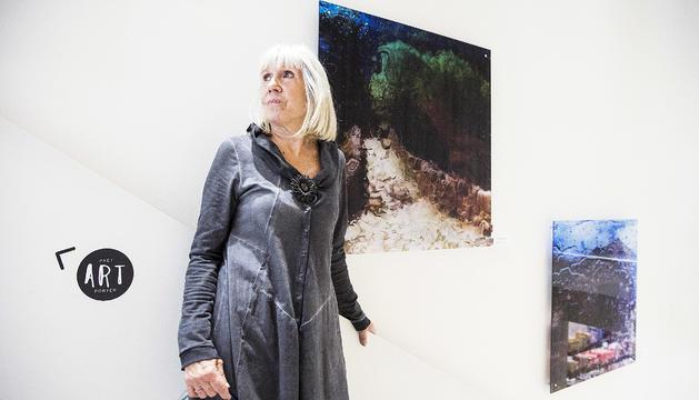 Gemma Nogueroles, protagonista de la mostra.