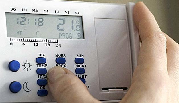 Un termòstat ens ajuda a estalviar energia.