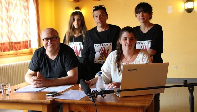 Membres de la Plataforma Aldosa Veïns.