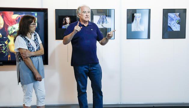 Ricard Lobo signa les imatges exposades al museu lauredià.