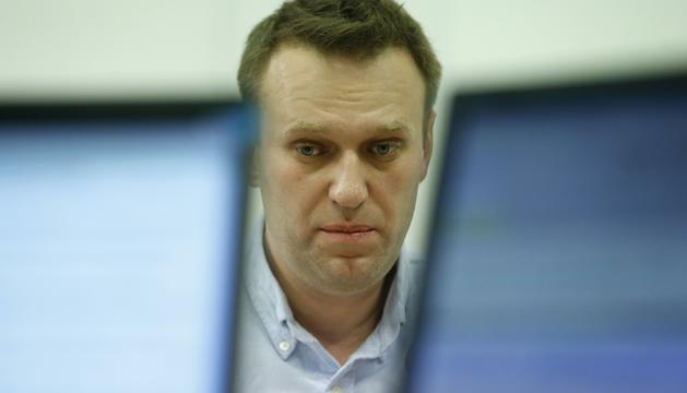 Aleksei Navalni, en una imatge d'arxiu.