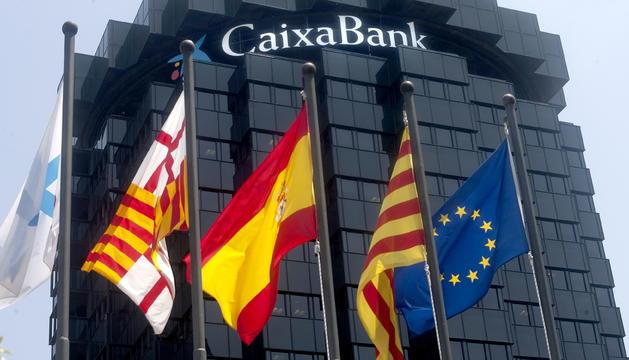 La fins ara seu central de CaixaBank, al districte de Pedralbes de Barcelona.