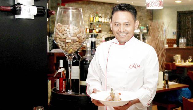 Ronaldo Bautista, del restaurant La cava Ronaldo.