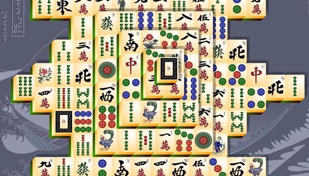 3. Una bona partida de Mahjong en solitari permet fer net de les cabòries.