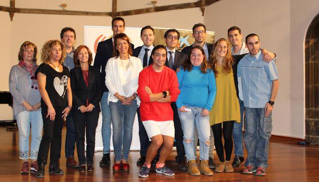 La presentació d'avui a la Seu d'Urgell.