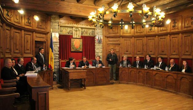 La celebració del consell ordinari de Sant Julià.