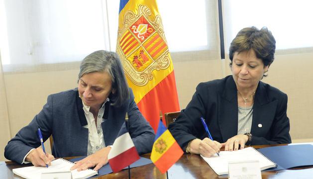 Una comissió francoandorrana representa la frontera