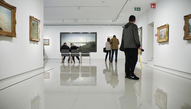 'Escenaris', la mostra pictòrica que acull actualment el museu.