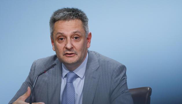 El ministre d'Economia, Competitivitat i Innovació, Gilbert Saboya.