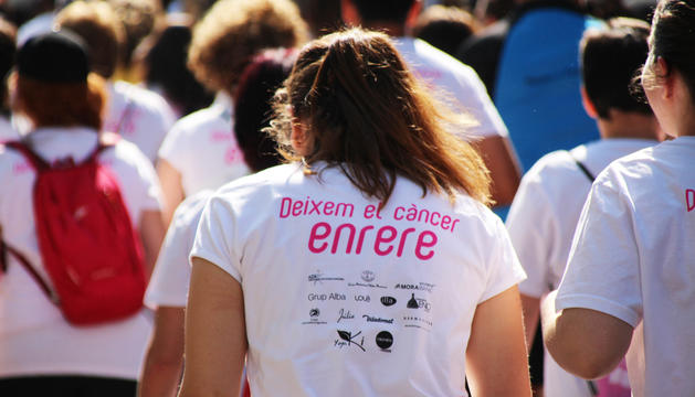 La Cursa de la Dona s'organitza cada any a favor del càncer de mama.