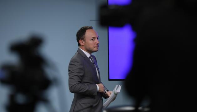 El ministre de Justícia, Xavier Espot.