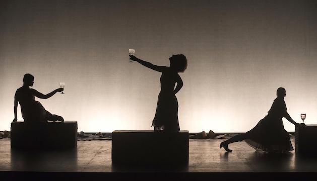 Una imatge de l'espectacle que arribarà dimarts vinent a l'escenari lauredià.
