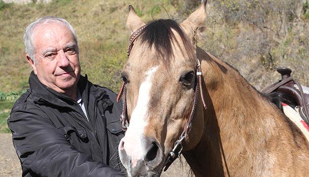 Amadeu Calvó ha recuperat l'afició als cavalls