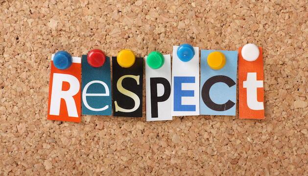 2. El respecte a les idees de l'altre és essencial. Quan no hi és, malament.