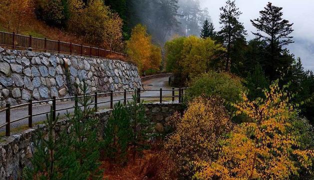 9. Les passejades per la muntanya, sobretot a la tardor.