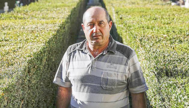 Olimpio Lourido treballa al servei d'obres del comú d'Escaldes.