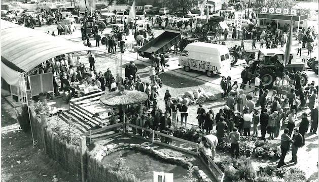 La Fira d'Andorra la Vella l'any 1982.