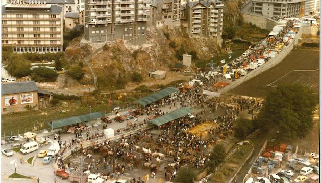 La Fira l'any 1985.