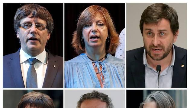 Puigdemont i cinc exconsellers viatgen a Bèlgica per demanar asil