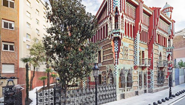 Casa Vicens ha passat a ser un museu després de la rehabilitació portada a terme per MoraBanc.