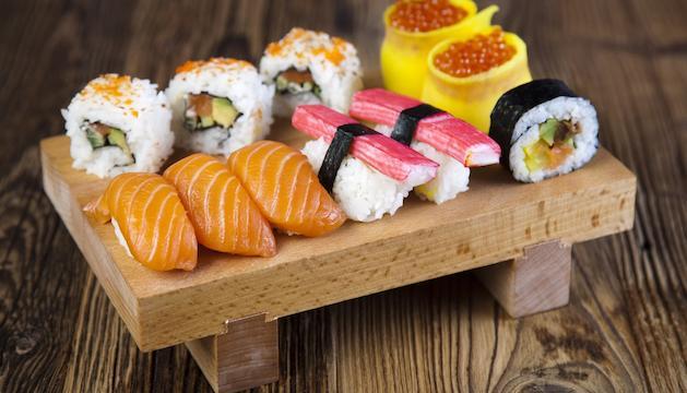 1. Un cop comences amb el sushi te'n fas fan.