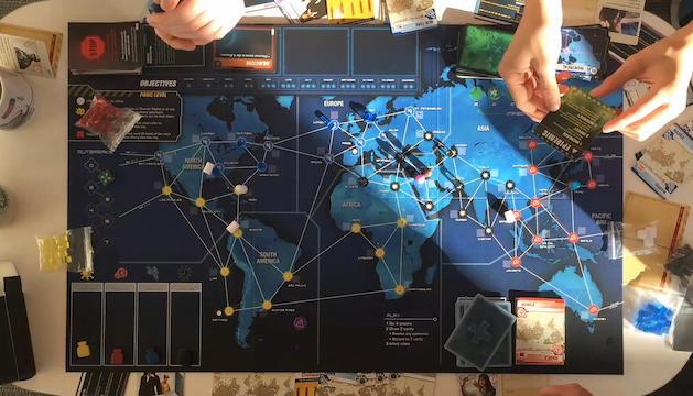 Participants al joc Pandemic