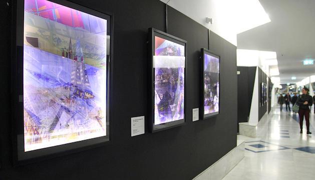 Les obres del brasiler, al vestíbul del termolúdic.